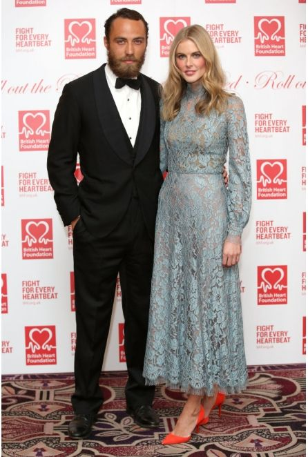 Donna Air wearing NEVENA at British Heart Foundation ball