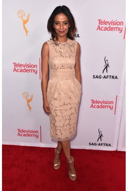 Meta Golding in NEVENA at Emmys / Television Academy