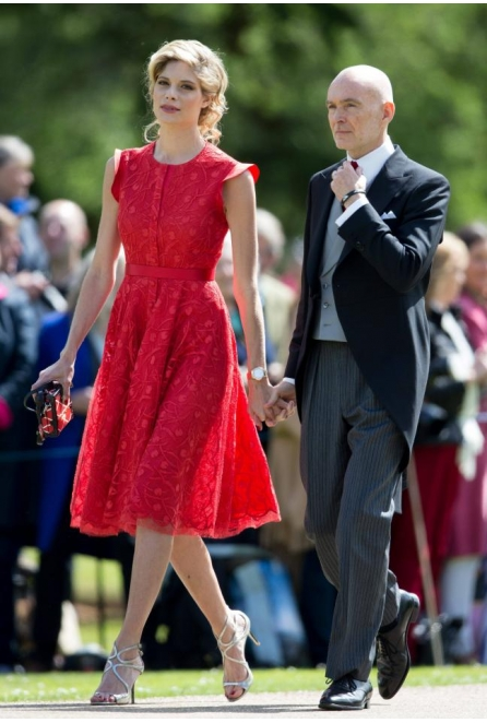 NEVENA at the Pippa Middleton's Wedding