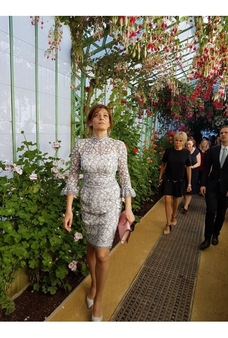 Desislava Radeva, Bulgaria's First Lady wearing NEVENA for the Brussels NATO summit