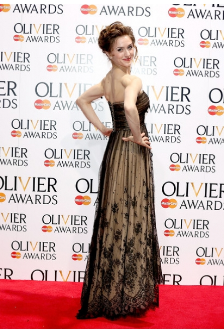 Marianela Nunez at the Laurence Olivier Awards