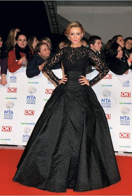 Catherine Tyldesley At The National Television Awards 2014